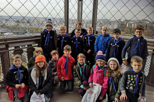 Newbold Scouts on the Eifel Towwer
